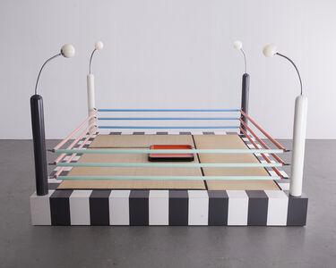 """Masanori Umeda, '""""Tawaraya"""" boxing ring sculptural seating unit.', ca. 1981"""