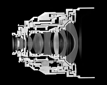 Christopher Williams, 'Cutaway model Zeiss Distagon T*...', 2013