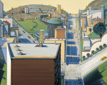 Wayne Thiebaud, 'Valley Streets', 2003