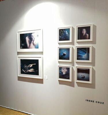 Fifty Dots at fotofever Paris 2018, installation view