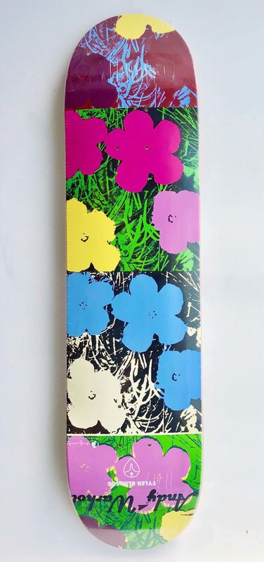 Andy Warhol, 'Flower Skatedeck', 2010, Design/Decorative Art, Silkscreen on wood, Gallery 52