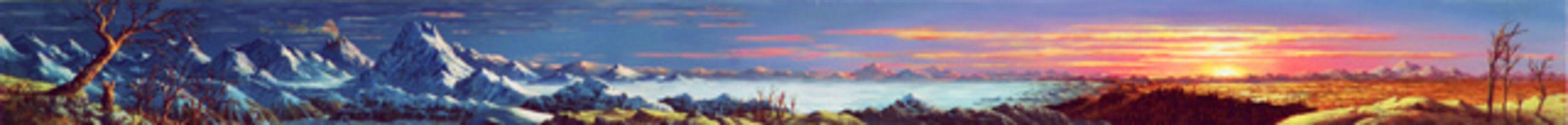 Jim Sullivan, 'Glaciation Sunset', 2006