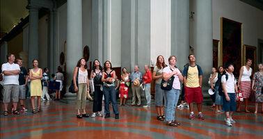 Thomas Struth, 'Audience 4, Florence', 2004