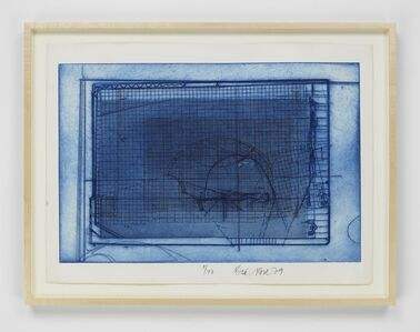 Dieter Roth, 'Brauner Käfig in blauem (Brown Cage in Blue Cage)', 1977/1979