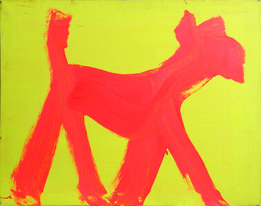 Peter Mayer, 'Dog Painting 19', 1990