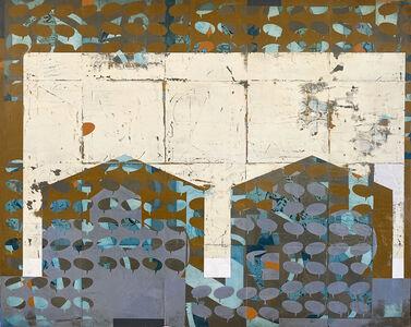 Joseph Ostraff, 'Proximity (Between Two Houses)', 2020