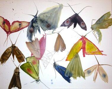 Allyson Reynolds, 'Untitled II (Moths)', 2010