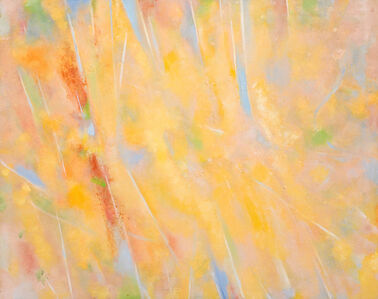 John Golding, 'SI5 (Peach and Gold)', 1985