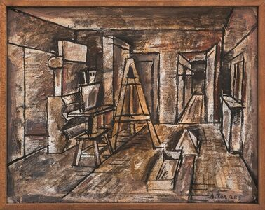 Augusto Torres, 'Perspectiva del taller', ca. 1936