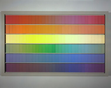 Ricci Albenda, 'Monochrome COLOR-I-ME-TRY palettes for Cyclidrome 2004 3/4', 2004