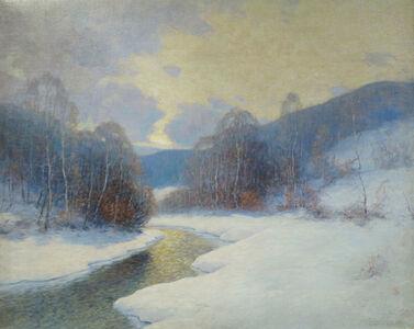 Ernest Albert, 'Winding Winter Stream ', 1935