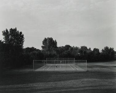 Frank Gohlke, 'Tennis Court, St. Paul, Minnesota', 1977