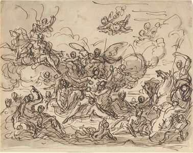 Sir James Thornhill, 'Birth of Venus', ca. 1710