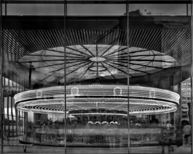 Matthew Pillsbury, 'Jane's Carousel, Brooklyn Bridge Park', 2011