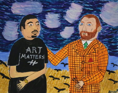 Raymond Lopez, 'Me and Van Gogh', 2018