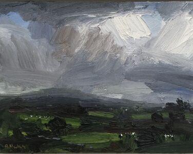 Robert Newton, 'Spring Rain, Beacon Hill', 2019