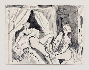 Cecily Brown, 'Untitled, (after Thomas Rowlandson)', 2020