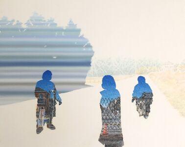Akira Kamo, 'Between Landscape and Portrait 7', 2017