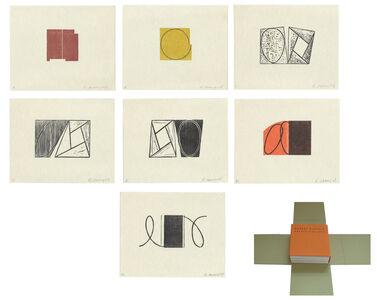 Robert Mangold (b.1937), 'Robert Mangold Prints 1968-1998', 2000