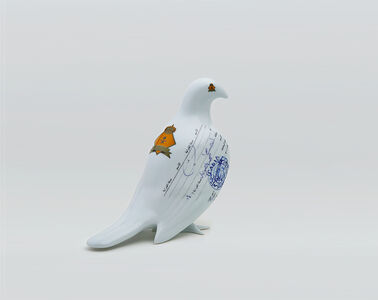 Manal AlDowayan, 'Suspended together (Standing Dove)', 2008