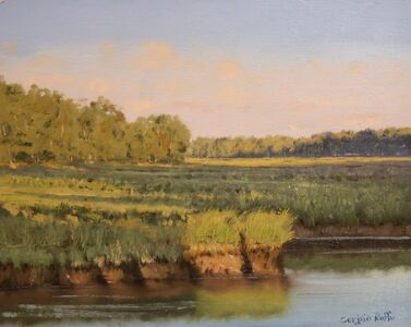 Sergio Roffo, 'Approaching Sunset on the Marsh', 2019