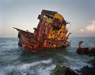Andrew Moore, 'Shipwreck, Jibarra, Cuba', 2008