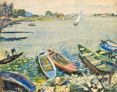 Oskar Laske, 'Old Danube', ca. 1930
