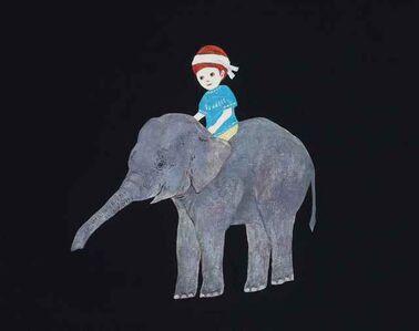 Chisato Tanaka, 'With the elephant', 2019