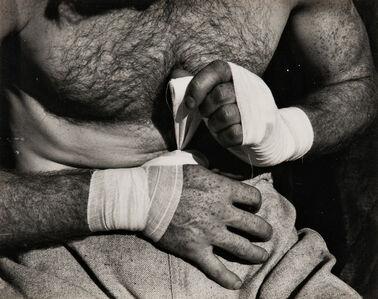 Willard Van Dyke, 'Boxer's Hands', c. 1933-printed later