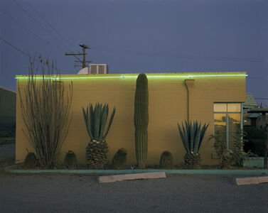 Steve Fitch, 'On the Tucson to Nogales Highway, Greyhound Motel, Tucson, Arizona; December 30, 1980'