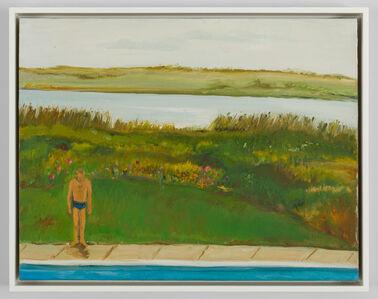 Jane Freilicher, 'Untitled (Joe at the Pool)', ca. 1960s