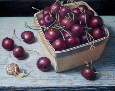 Doug Safranek, 'Bing Cherries in a Pint Basket', 2020