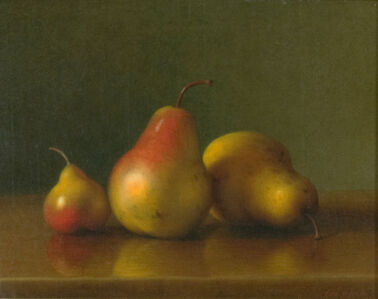 George Henry Hall, 'Still Life with Pears', 1869