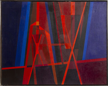 Edmund Lewandowski, 'Steel Mill #5', 1967