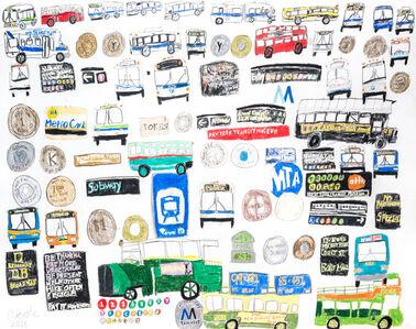 Nicole Appel, 'MTA Transit', 2013