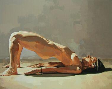Ingrid Capozzoli Flinn, 'Nude in Bridge Pose', 2008