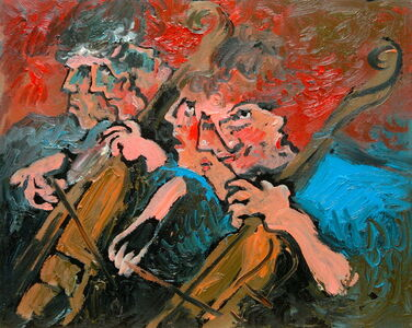 Victor Victori, 'The Cellists', 1988
