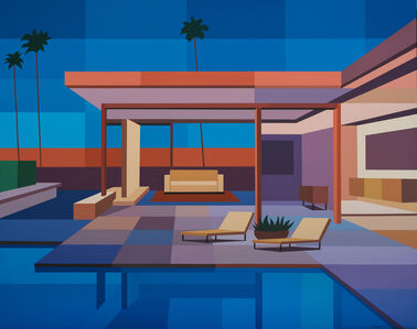 Andy Burgess, 'Modern House II', 2019
