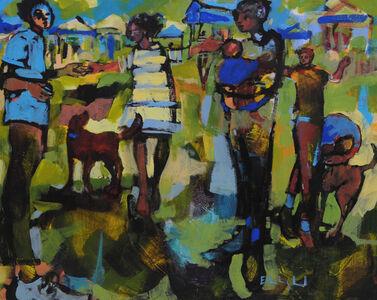 Ellen Langford, 'And We Gather', 2018
