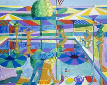 Roland Petersen, 'American Bathers', 2017