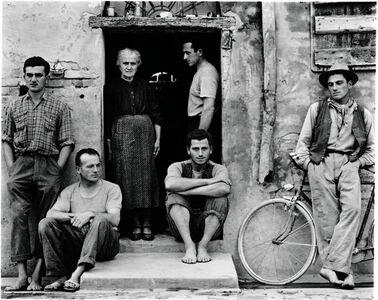 Paul Strand, 'The Family, Luzzara, Italy', 1953