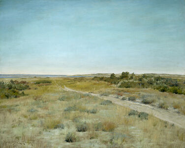 William Merritt Chase, 'First Touch of Autumn', ca. 1898