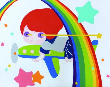 Aki Yamamoto, 'Rainbow tunnel and twinkle kompeito', 2013