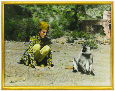 Luigi Ontani, 'Monkey (Jaipur 1977)', 1977