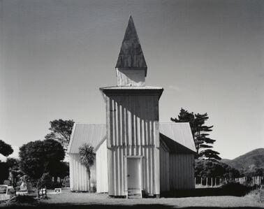 Laurence Aberhart, 'Anglican church, Pawarenga Peninsula, Whangape Harbour, Northland, 10 May 1982', 1983