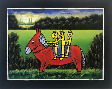 Meir Pichhadze, 'Red Donkey', ca. 1990