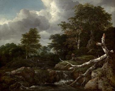 Jacob van Ruisdael, 'Forest Scene', ca. 1655