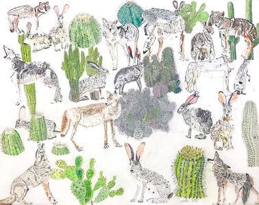 Nicole Appel, 'Cacti, Coyotes, and Jackrabbits', 2017