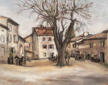 Samson Flexor, 'Village', executed in 1943