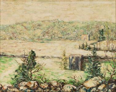 Ernest Lawson, 'River in Winter, New York', ca. 1935